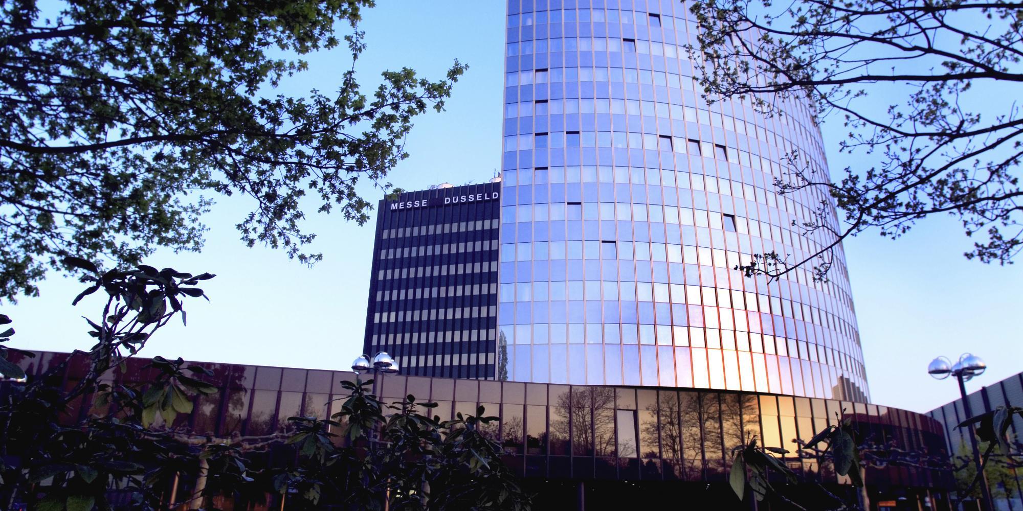Verwaltungsgebäude der Messe Düsseldorf