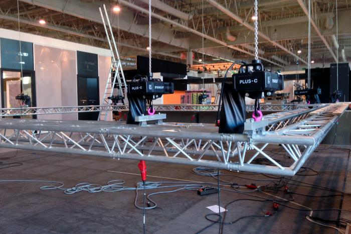 Truss construction in preparation